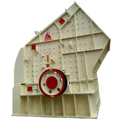 Hard Rock breaking PE impact crusher