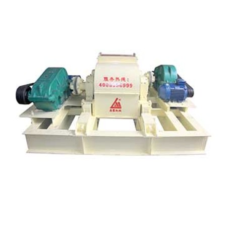 Double-roller crusher medium hardness