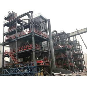 VL series floor-type dry aggregate production plant