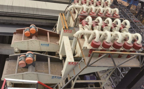 LMCX series super-fine sand recycling device