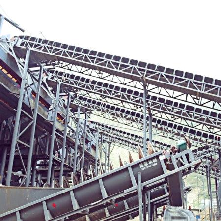 Belt conveyor series for coal industry