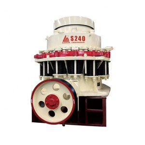 Symons cone crusher S240 standard with 350-600tons per hour high performance
