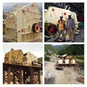 PF1315 impact crusher with 140-200tons per hour capacity widely use for limestone and soft stone rock crusher