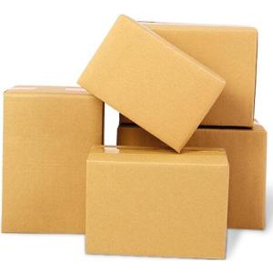 Custom Kraft Paper Corrugated Cardboard  Single Wall Boxes