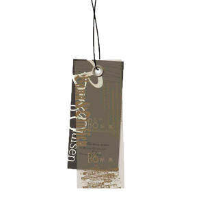 Customized style Printing Cardboard Clothing Hang Tags