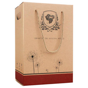 Customized style carton box cardboard boxes for wine