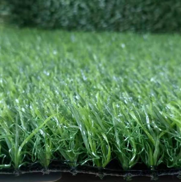 Luxurious fake grass for outdoor flooring