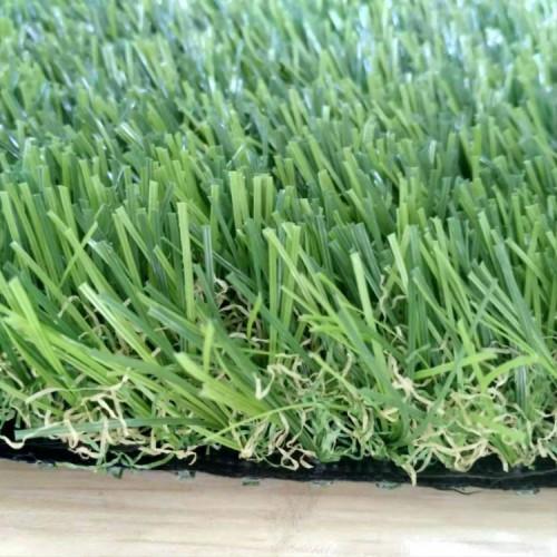 W shape yarn artificial lawn for graden