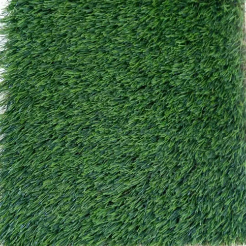 Comfortable feeling synthetic lawn with C shape yarn