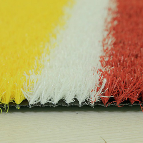 Rainbow artificial turf for playground