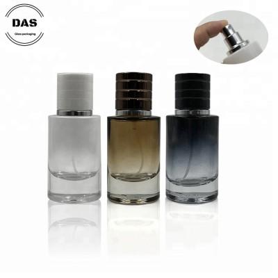 Botella de perfume con tapa de plástico