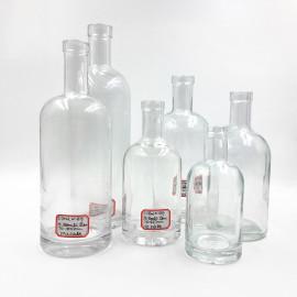 Glass Vodka Spirit Bottle