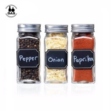 Glass Spice Jar Bottle