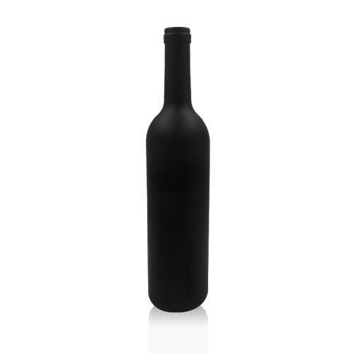 Botella de vino de cristal