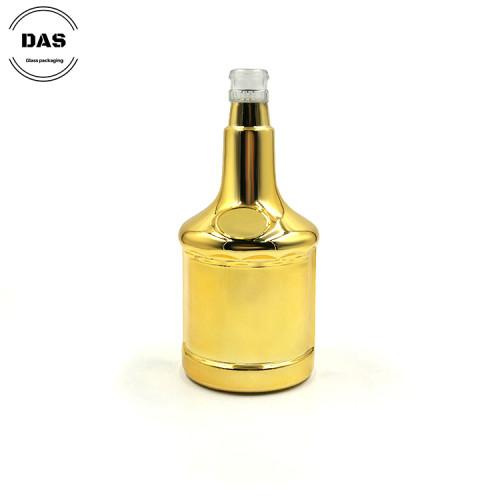 Botellas de alcohol de licor de vidrio