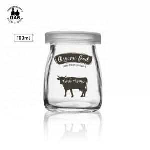 Yogurt Glass Jam Pudding Jar