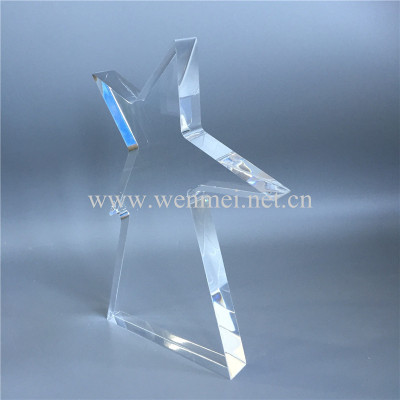 Customized Shape Engraving Acrylic Awards Acrylic Trophy