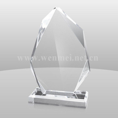 2019 Customized Shape Engraving Fashion Acrylic Awards Acrylic Trophy