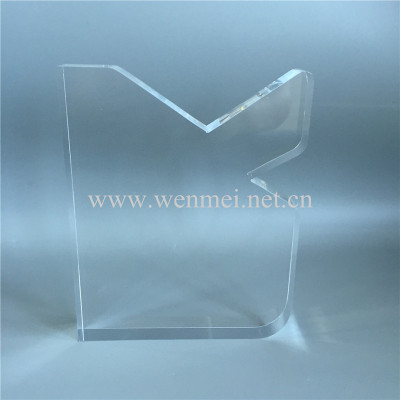 customize shaped acrylic awards/engraved acrylic awards