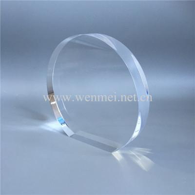 Customized Round Acrylic Award Acrylic Trophy