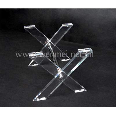 Modern customized acrylic furniture leg
