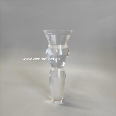 Modern  customized  handmade clear acrylic furniture leg