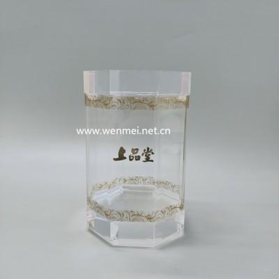 Luxury Custom Acrylic Bird's Nest Packing Box/Display Box/Plexiglass Food Storage Box