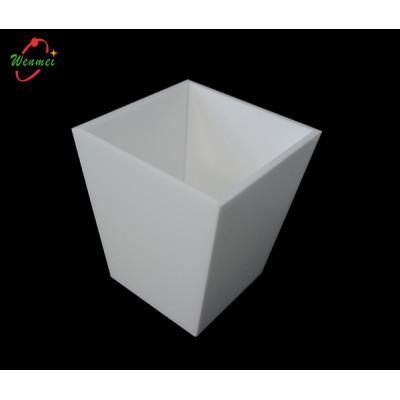Acrylic trash can