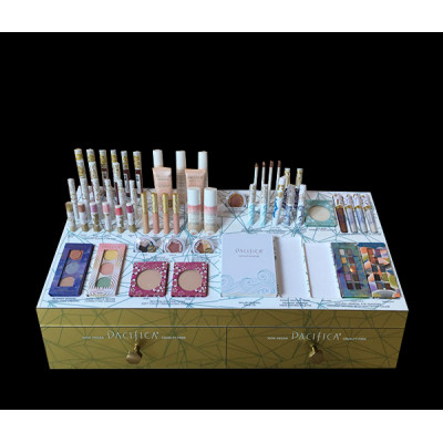 luxury Acrylic Makeup Display Acrylic Cosmetic Display Rack
