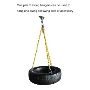 Playground Accessories Swing Heavy Duty Tire Swivel Hanger For Wooden Playground Sets