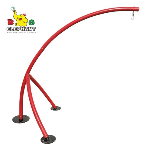 Elephant Trunk Outdoor Metal Hammock Chair Stand For Hanging Hammock