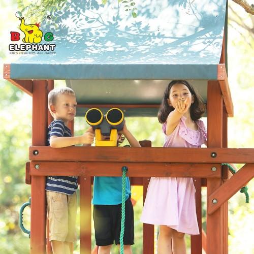 Kids Plastic Toy Mini Binocular For Children
