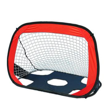 Soccer Goal Portable Soccer Goal Net Set - 2 in 1, Pop Up Training Football Goals