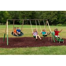 How to Install a Kids Swing Set?
