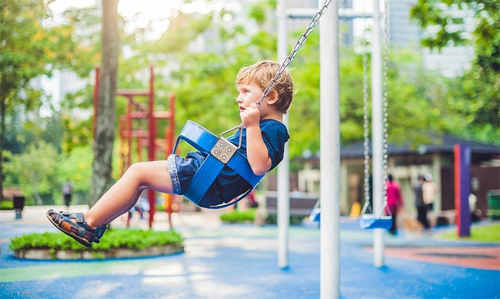 three potential safety issues for kids' swing sets