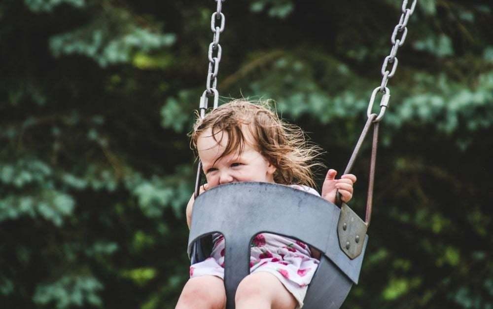 the four major benefits of children's swings for children's physical development.