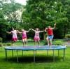 Safety precautions for children's trampoline