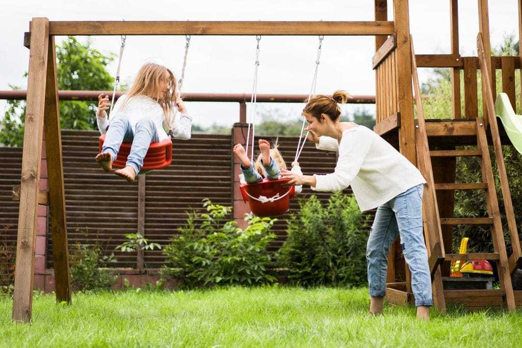 five tips for installing a children's swing