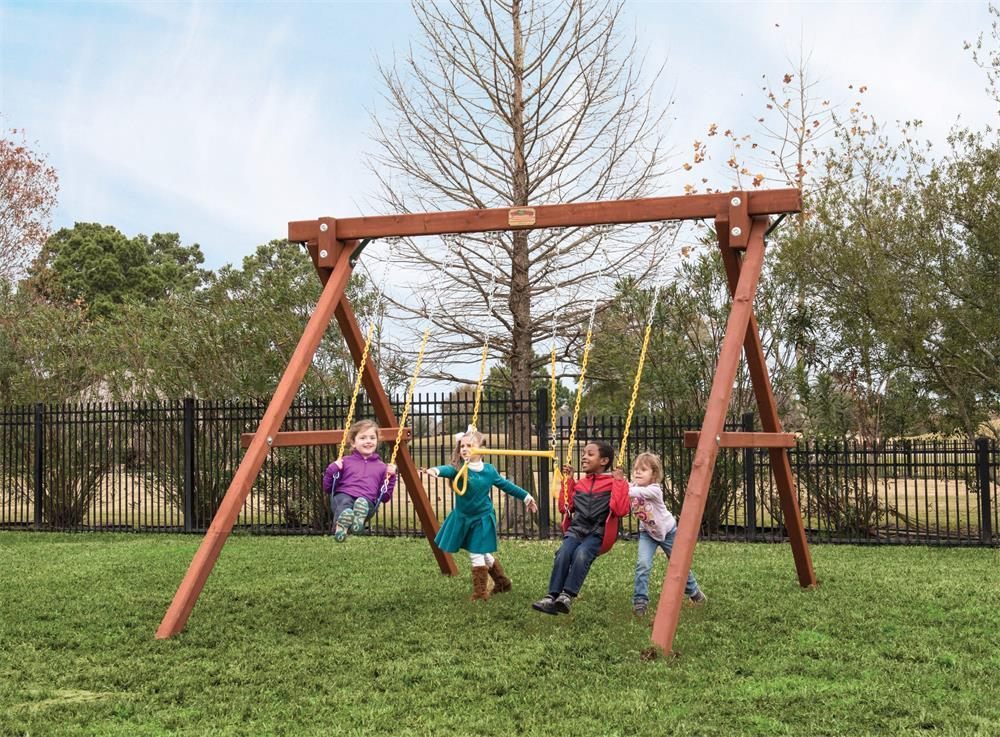 the types and components of kids' swings