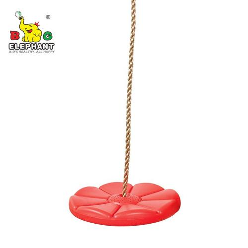Tree Disc Swing for Kids with Adjustable Rope, Rope Swing Seat for Outdoor Indoor Swingset Accessory