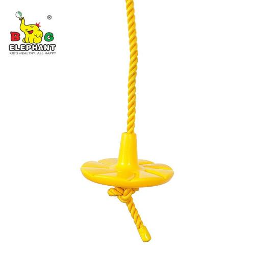 Heavy Duty Disc Tree Swing with Rope for Outdoor Play - Easy DIY Addition to Playset or Tree