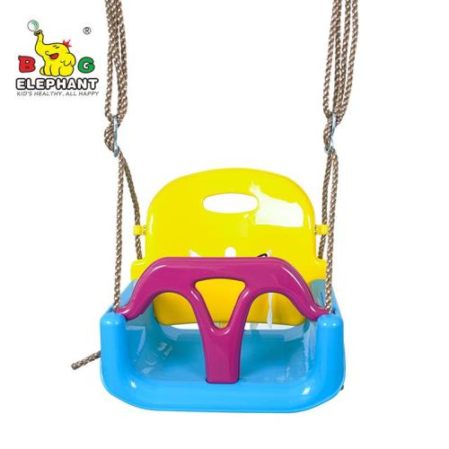 3 in 1 Kids Swing Seat, Toddler Infants to Teens High Back Full Bucket Secure Swing Chair Detachable Indoor Outdoor Toddlers Children Hanging Seat
