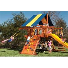 How to Restore a Wooden Swing Set?