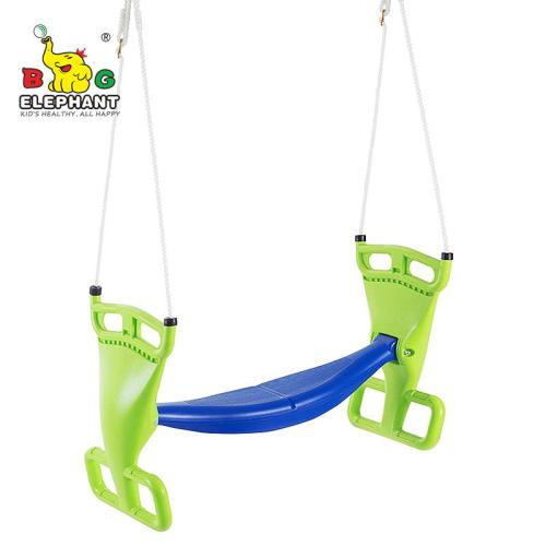 Glider Swing for Swingset, Swing Set Accessories, Back-to-Back Glider for Two Kids