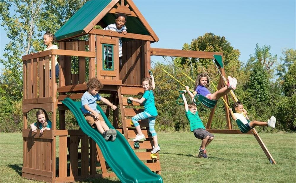 the precautions for installing kids' swings