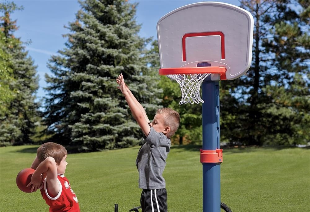 the benefits of buying a basketball hoop for your child