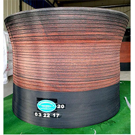NATURAL RUBBER HIGH QUALITY SHAPING DRUM BLADDER FOR TIRE BUILDING