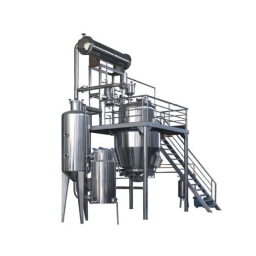 LTN-1/250 GMP Standard Olive hemp oil ethanol extraction machine equipment