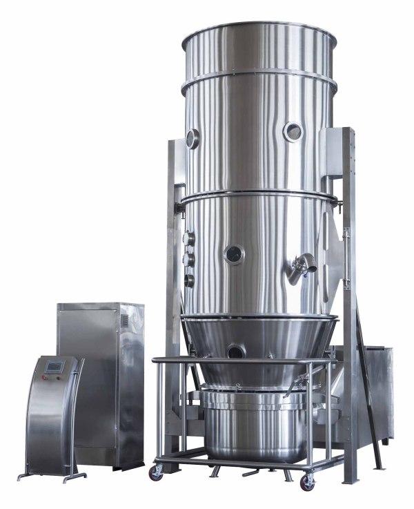 Máquina de lecho fluidizado de secador FL-60 para laboratorio, secador, granulador, revestimiento muti-función