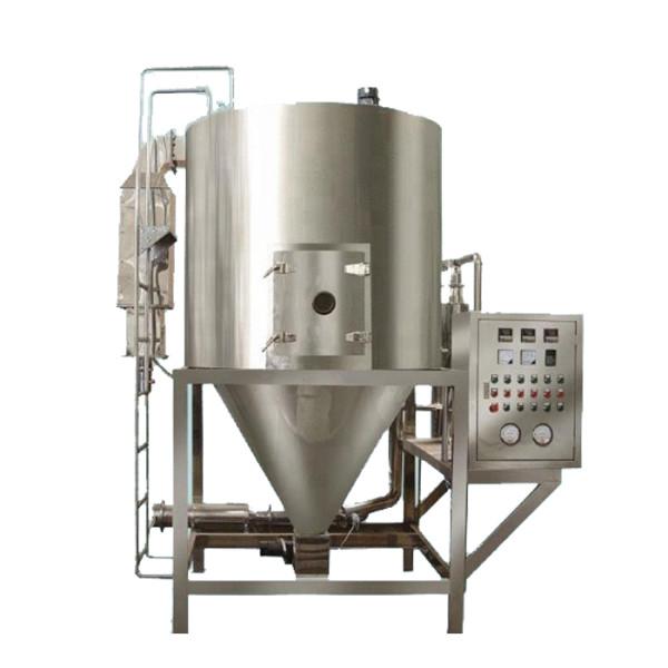 Equipo de secado por pulverización de acero inoxidable LPG-25 para la planta de detergente en polvo para huevos